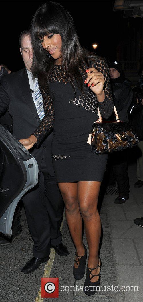 Alexandra Burke leaving Claridges Hotel. London, England