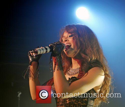 Alexis Jordan performing at G-A-Y nightclub London, England