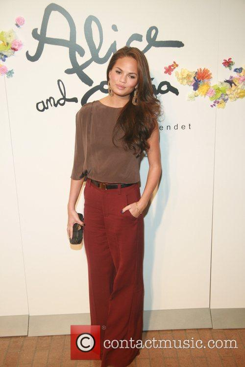 Chrissy Teigen    Alice and Olivia...