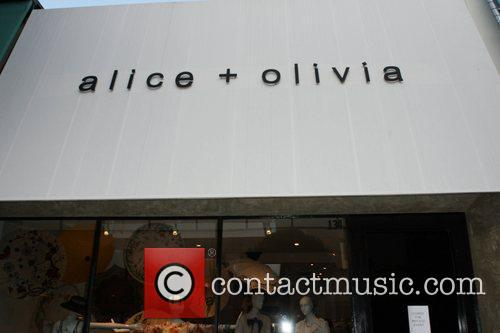 The Alice & Olivia store on Robertson Boulevard