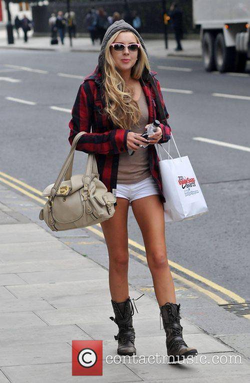Alice Barlow out and about in London London,...
