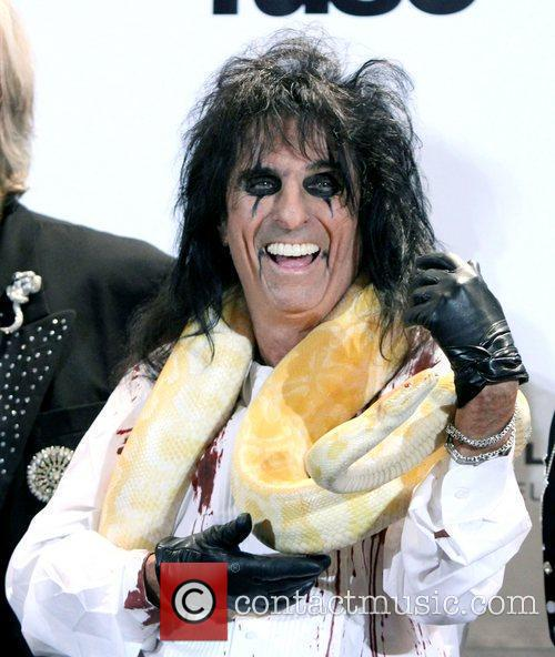 Alice Cooper and Rock And Roll Hall Of Fame 8