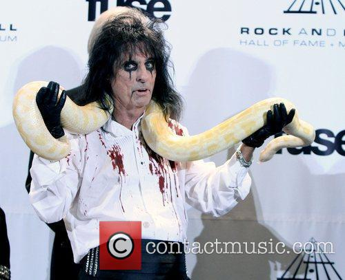 Alice Cooper and Rock And Roll Hall Of Fame 2