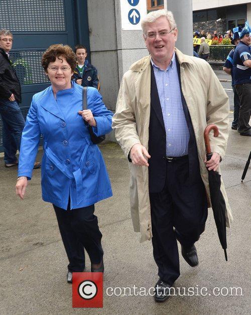Carol Hanney, Eamon Gilmore  The Dublin v...