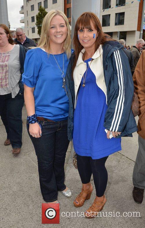 Edel Moran, Emma Walsh  The Dublin v...