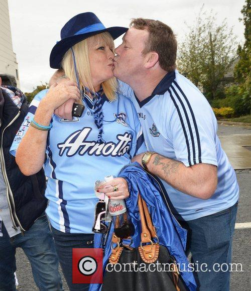 The Dublin v Kerry All Ireland Final at...