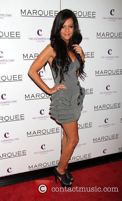 Allison Melnick celebrates her birthday at Marquee Nightclub...