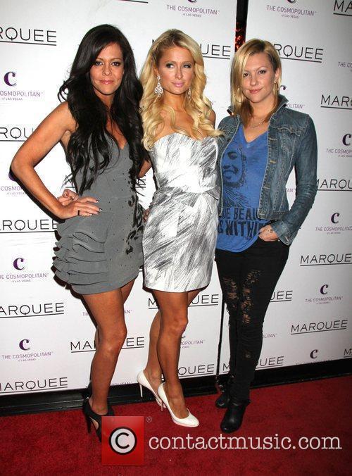 Allison Melnick, Paris Hilton, Jennifer Rovero Allison Melnick...