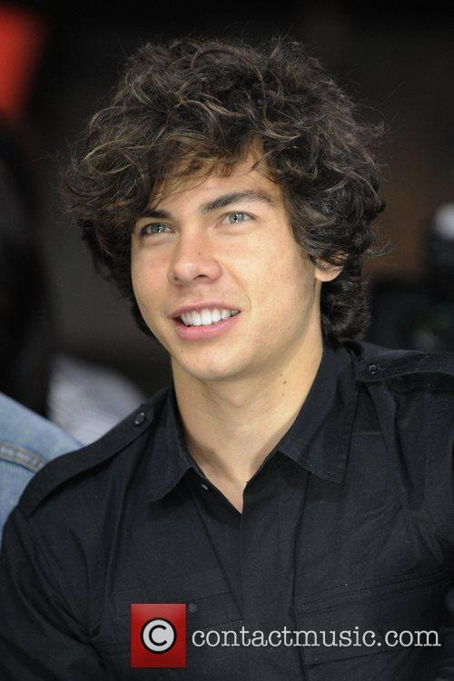 Cameron Quiseng of band 'Allstar Weekend'  appears...