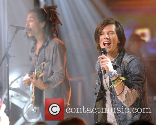 Nathan Darmody and Zachary Porter of band 'Allstar...