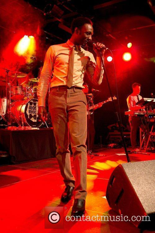 Aloe Blacc performing at the Brewhouse Club in...