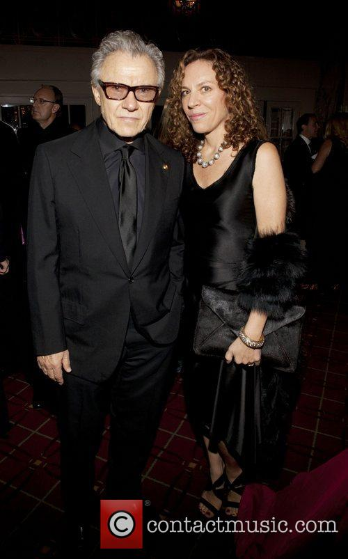 Harvey Keitel and Daphna Kastner