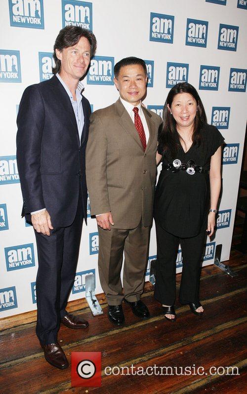 Paul Turcotte, John C. Liu and Mae Cheng...
