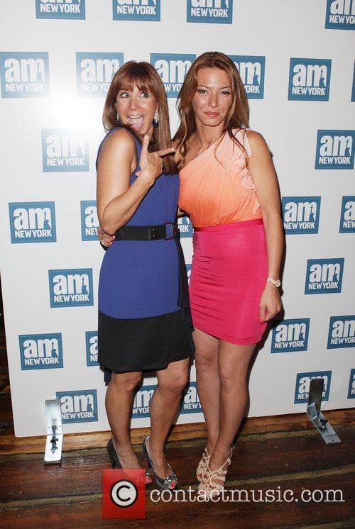 Jill Zarin, Drita D'avanzo  AM New York...