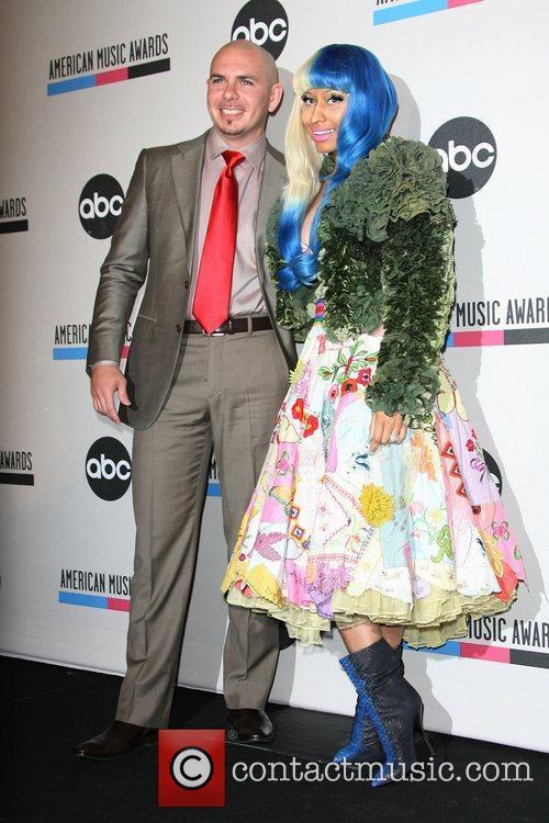 Pitbull, Nicki Minaj and American Music Awards 4