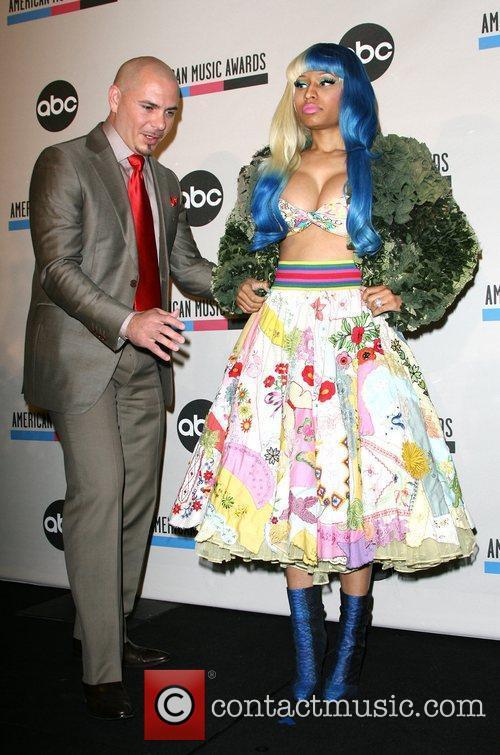 Pitbull, Nicki Minaj and American Music Awards 3