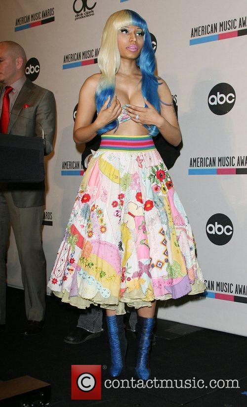 Pitbull, Nicki Minaj and American Music Awards 6