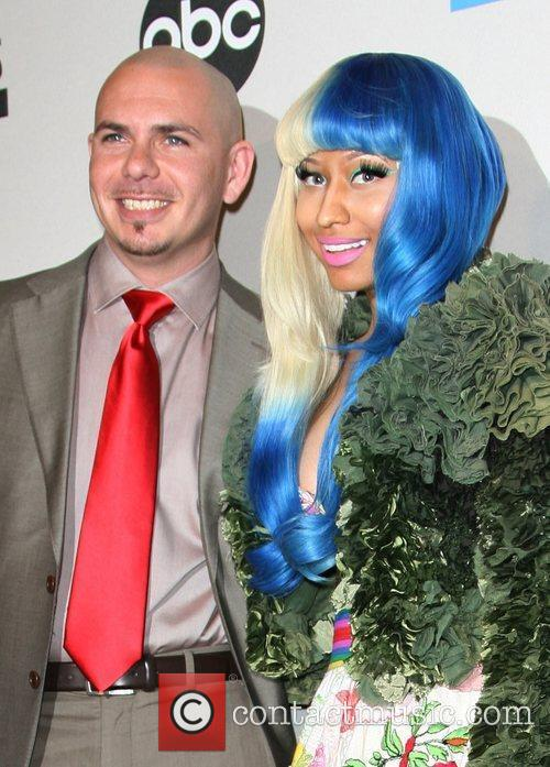 Pitbull, Nicki Minaj and American Music Awards 5