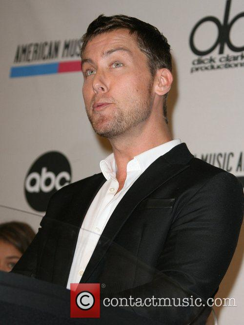 Lance Bass and American Music Awards 4