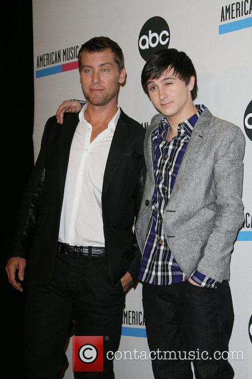 Lance Bass, Mitchel Musso and American Music Awards 5