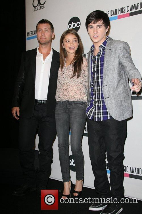 Lance Bass, Mitchel Musso, Sarah Hyland and American Music Awards 3