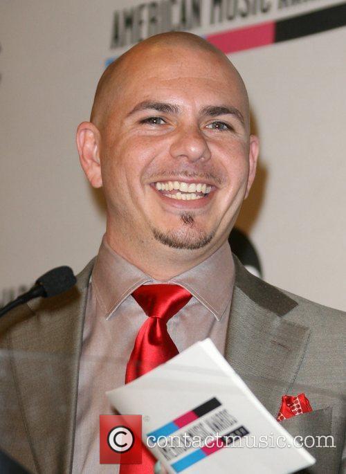 Pitbull and American Music Awards 11