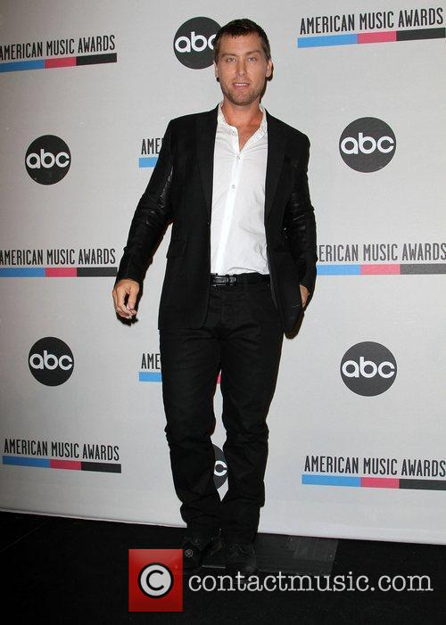 Lance Bass and American Music Awards 6