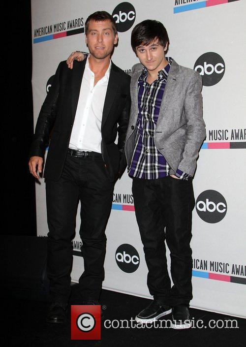 Lance Bass, Mitchel Musso and American Music Awards 8