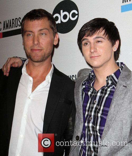 Lance Bass, Mitchel Musso and American Music Awards 7