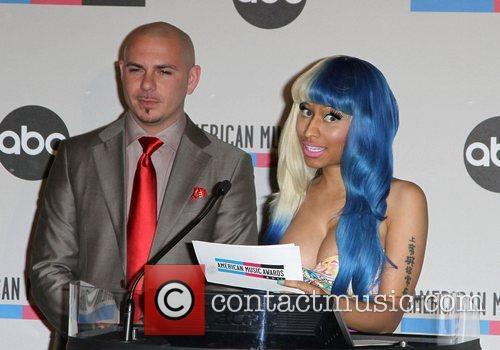 Pitbull, Nicki Minaj and American Music Awards 1