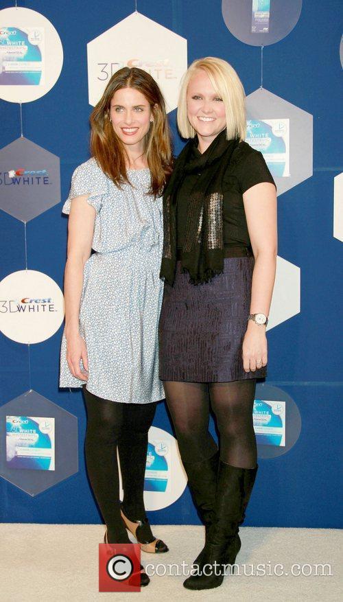 Amanda Peet and Alissa Fitzgibbons External Relations at...