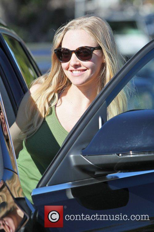 Amanda Seyfried seen leaving her personal trainers in...