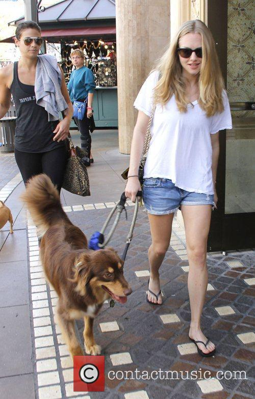Amanda Seyfried out shopping at The Grove with...