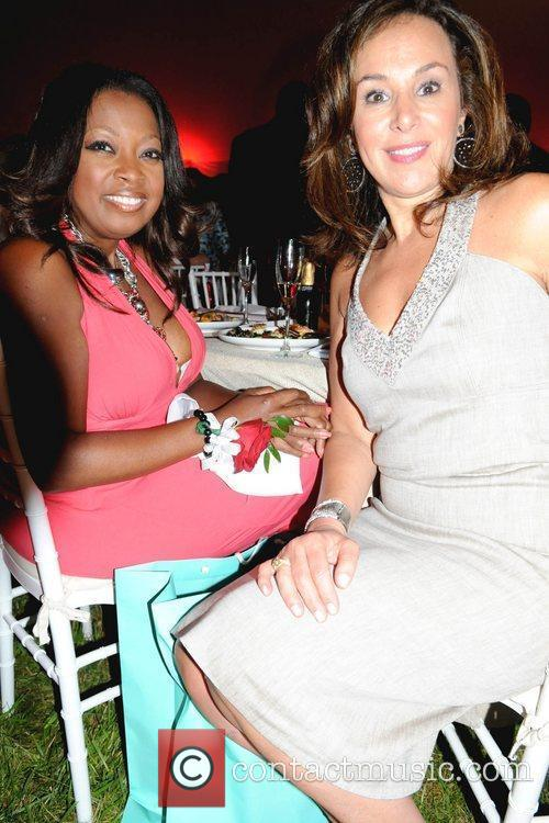 Star Jones and Rosanna Scotto American Heart Association's...
