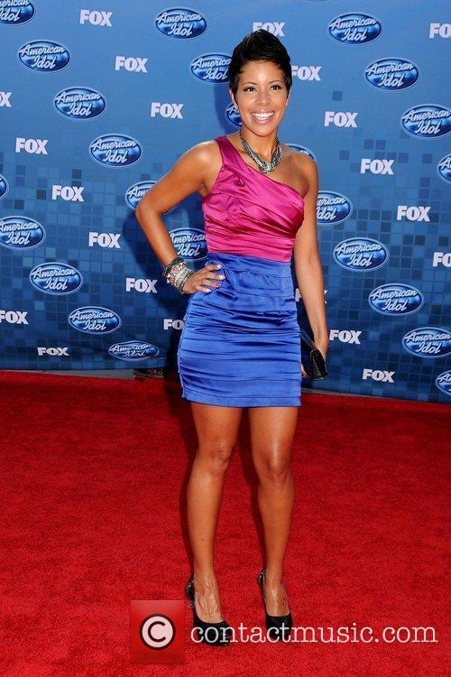 Ashley Rodriguez The 2011 American Idol Finale at...