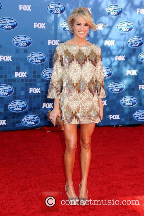 Carrie Underwood The 2011 American Idol Finale at...