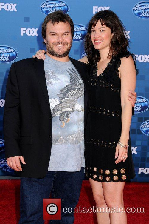 Jack Black and Tanya Haden The 2011 American...