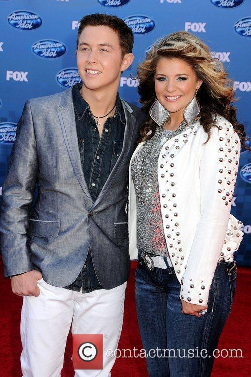Scotty McCreery and Lauren Alaina The 2011 American...