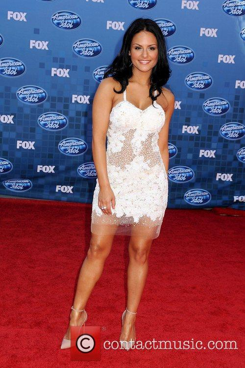 Pia Toscano The 2011 American Idol Finale at...