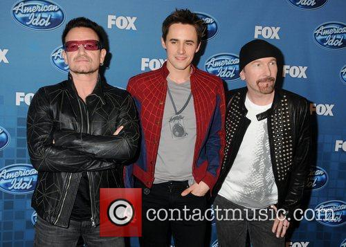 Bono, Reeve Carney and The Edge The 2011...