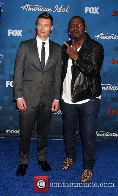 Ryan Seacrest, American Idol and Randy Jackson 1