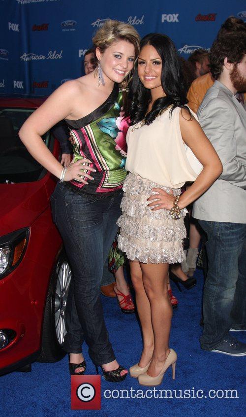Lauren Alaina, Pia Toscano  The American Idol...
