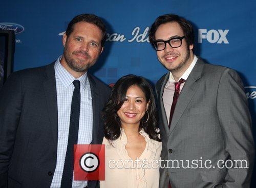 David Denman, American Idol and Liza Lapira 5