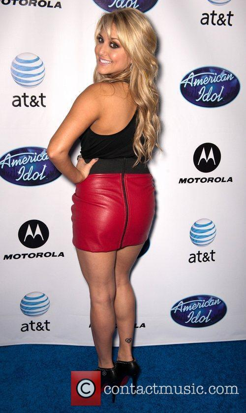 Cassie Scerbo and American Idol 1