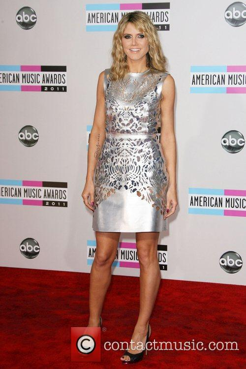 Heidi Klum and American Music Awards 4