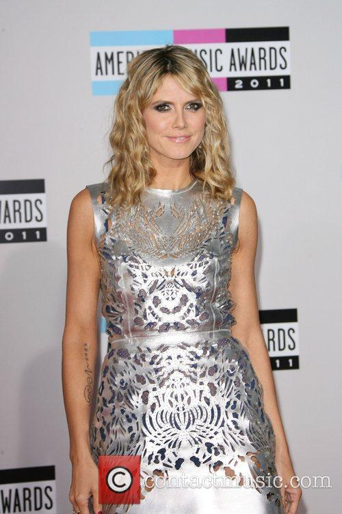 Heidi Klum and American Music Awards 5