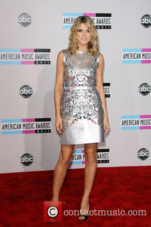 Heidi Klum and American Music Awards 2