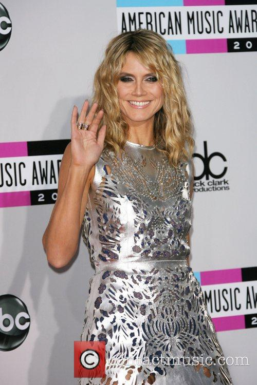 Heidi Klum and American Music Awards 6