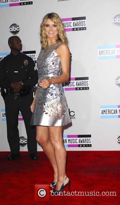 Heidi Klum and American Music Awards 1