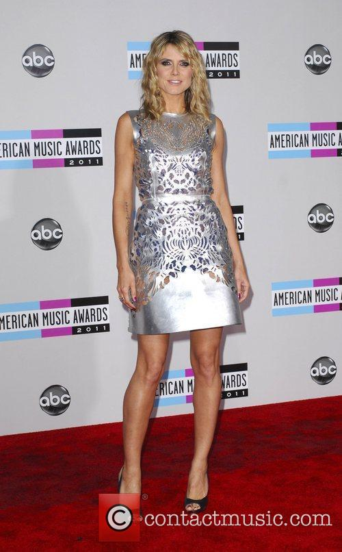 Heidi Klum and American Music Awards 9